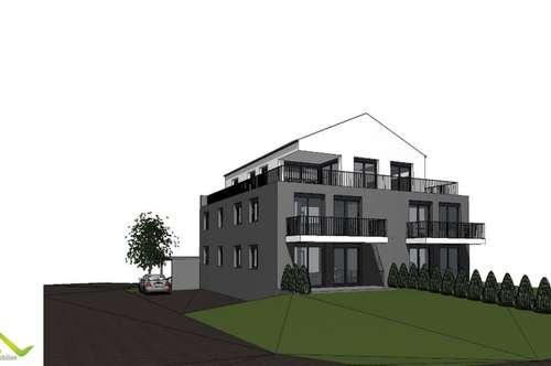 Neubau-115m² Penthouse mit einmaliger Süd, Ost und West- Dachterrasse