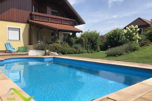 Geschmackvolles Haus mit Einliegerwohnung und Swimming Pool in absoluter Ruhelage