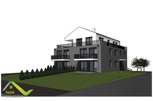 Neubau in Strasswalchen -110m² Dachgeschoß mit Lift und 75m² u-förmiger Dachterrasse
