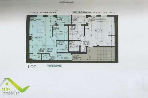 6 Wohnungen in zentraler Halleiner Lage zwischen 31m² und 52m² mit Loggia und Garage ab 90.000,00