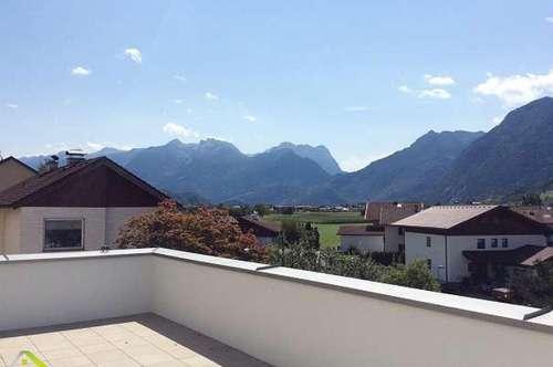 Neuwertige 3-Zimmerwohnung mit XXL-Terrasse, Tiefgarage und tollem Bergblick