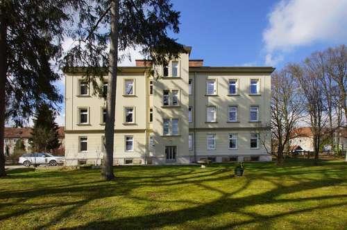 Zentrale Familienwohnung mit Gartennutzung und bester Infrastruktur