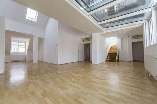 Bezaubernde 4-Zimmer DG-Wohnung mit Dachterrasse in 1010 Wien zu vermieten!