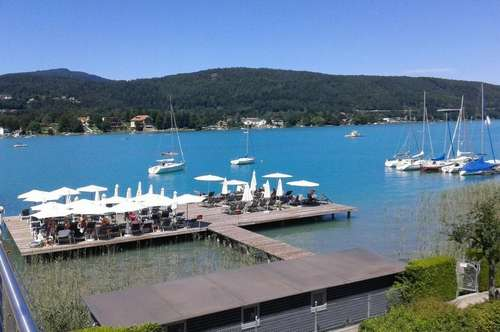 Exklusives Seepark-Apartment mit direktem Seezugang in Velden