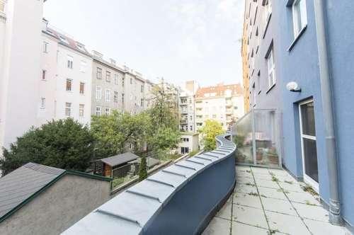 Schöne 3-Zimmer Maisonette mit Terrasse, nahe zum Rochusmarkt zu vermieten!