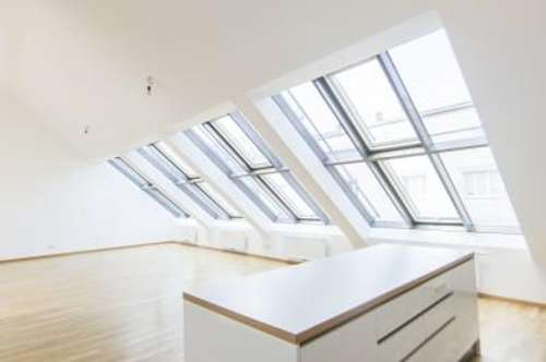 DG-Wohnung mit 4-Zimmern und großer Dachterrasse mitten in der Innenstadt zu vermieten!