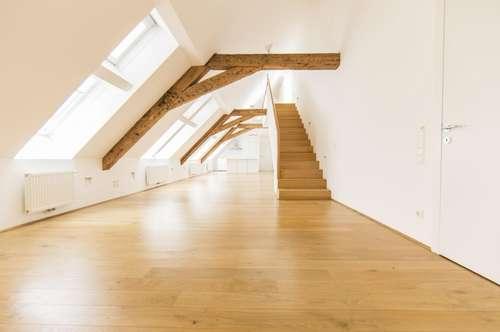 Wohnen im Herzen der Innenstadt! 3-Zimmer DG-Wohnung mit Terrasse unbefristet zu vermieten!