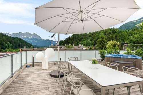 Luxus-Penthouse in mitten der Kitzbüheler Bergwelt