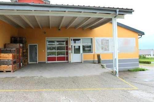5141 Moosdorf: Werbegünstig gelegene ca.670 m² Produktions -/Werkstätten- u. Bürofläche + optional ca. 260 m² Lagerfläche