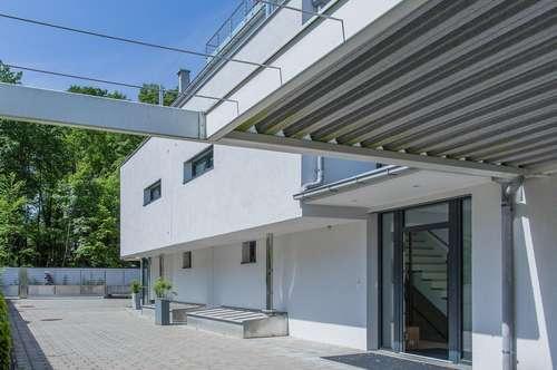 SBG/Aigen: Traumhaus mit Wellnessbereich + Zen Garten + Doppel Carport