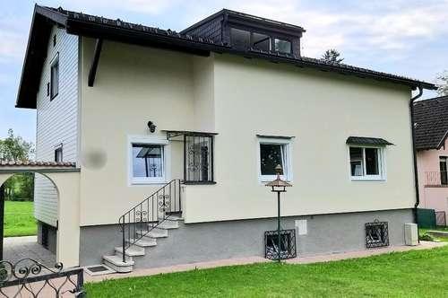 St.Georgen/Jauchsdorf: Erstbezug - Großes EFH mit viel Garten in ländlicher Ruhelage und toller Lokalbahn-Anbindung nach Salzburg