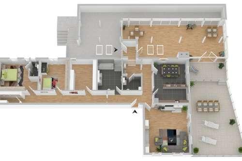 Erstbezug nach Komplettsanierung:Große Wohnung in Top Lage