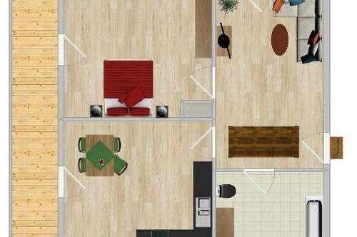 Gemütliche Wohnung oder Ferienwohnung mit Balkon