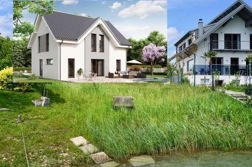 Neubauhaus am Badesee auf Eigengrund