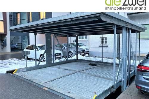 Stapelparkplätze in zentraler Lage von Feldkirch