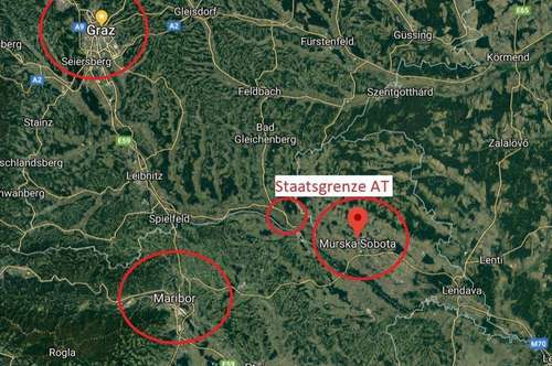 6ha Gewerbegrund direkt an der Autobahn A5 Maribor - Lendava und Bahn in Murska Sobota Slowenien