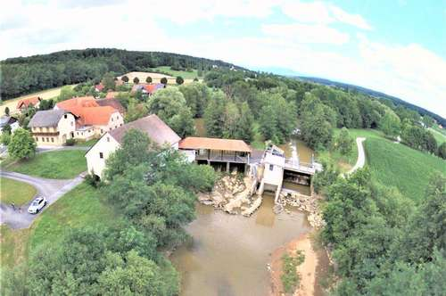 Alte Mühle unmittelbar neben der Therme wartet auf Revitalisierung, ev. für Ferienwohnungen!