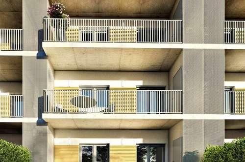 Provisionsfreie Anlegerwohnung mit Balkon - Erstbezug