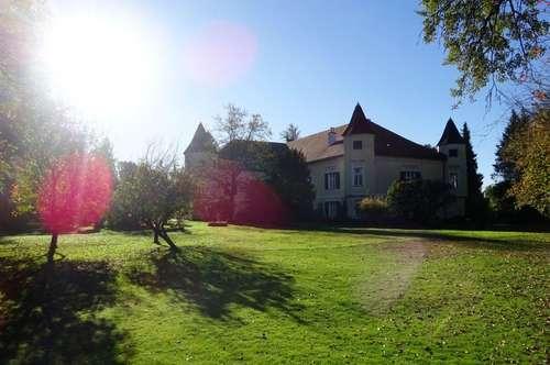 Geschichtsträchtig und herrschaftlich residieren! Generalrenoviertes Schloss in atemberaubenden Zustand mit 4ha Parkanlage