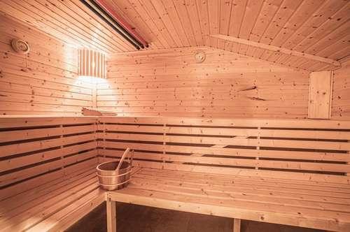 Ferienwohnung inmitten der Berge mit eigener Sauna