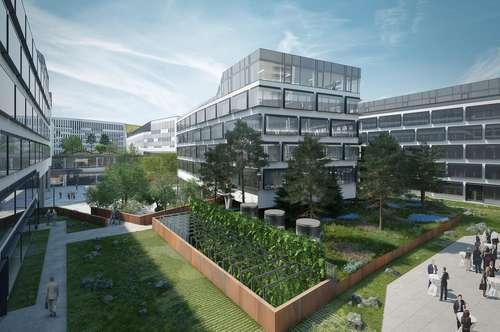Bequemes Arbeitsleben am AUSTRIA CAMPUS. Neue Büroflächen + top Infrastruktur