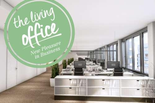 Effiziente Büroflächen an Top-Standort für Unternehmenszentrale