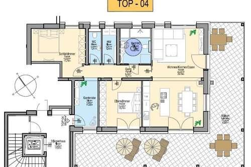 Drei Zimmerwohnung in St. Ulrich am Pillersee