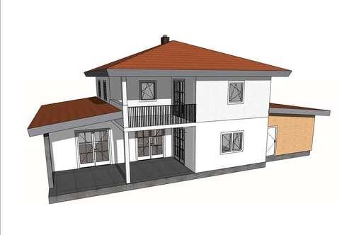 """Geschmackvolles Einfamilienhaus """"Mediterran"""" ca. 130 m²"""