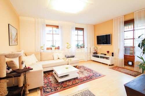 Werndorf: Helle, moderne 3-Zimmer-Wohnung mit Kaminofen und großer Loggia