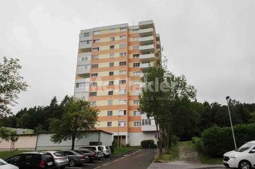 Idyllisch wohnen, komfortabel leben: 2-Zi.-ETW mit 2 Balkonen zentrumsnah in Weiz