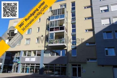 Ein neues Zuhause mit Charakter: Moderne 2-Zimmer-Eigentumswohnung mit Loggia im Herzen von Wels!