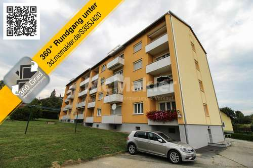 Neues Zuhause oder attraktive Kapitalanlage! Lichtdurchflutete 3-Zimmer-Wohnung mit Loggia!