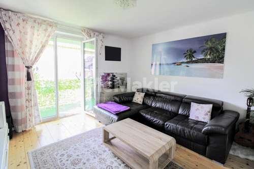 Komplett renovierte 3-Zimmer-Wohnung mit Loggia in zentraler Stadtlage!