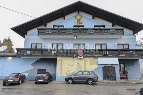 Attraktives Ensemble! Gasthof sowie Wohn- und Geschäftshaus im Dimbacher Ortskern