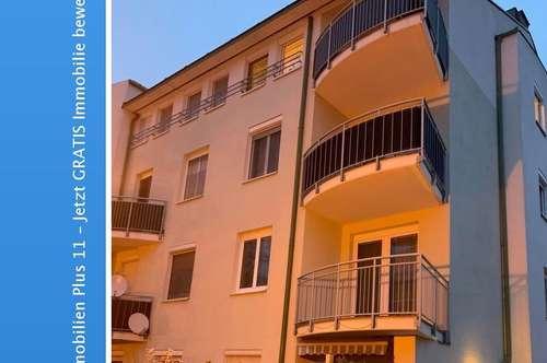 Tulln Stadt: 3 Zimmerwohnung mit Balkon und Tiefgaragenplatz