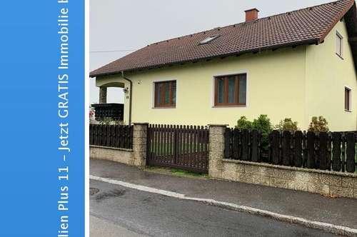 Bieterverfahren: Gepflegtes Wohnhaus mit Keller,a Garten, Garage u. Terrasse am Wagram - 35 Minuten von Wien entfernt!
