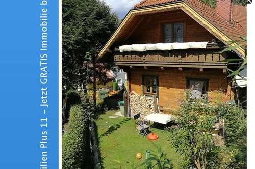 Holzblockhaus mit 90m² Wohnfläche nähe Sankt Veit