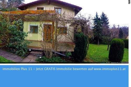 Winterfestes Sommerhaus mit Keller u. Sommergarten auf EIGENGRUND in Wien 13