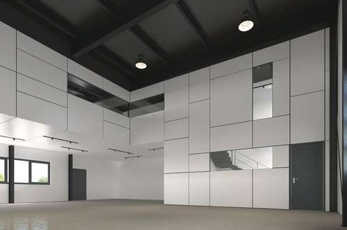 PROJEKT LXHausen: Hallen-Büro-Loft-Kombination