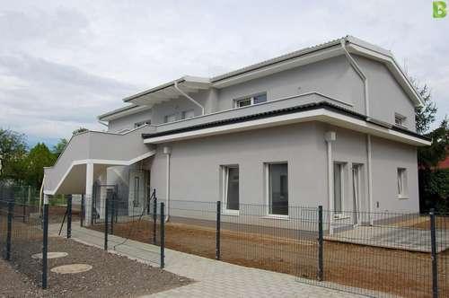 ERSTBEZUG! Unbefristete 3 Zimmer Neubaumiete mit Garten im Zentrum von Strasshof - inkl. Heizung!!