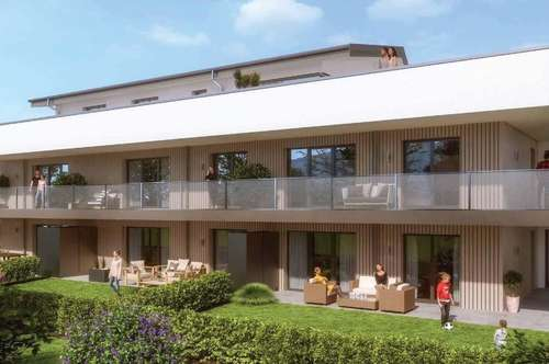 2 Zimmerwohnung im Süden Salzburgs: Ihr neues Zuhause mit ruhigem Garten!