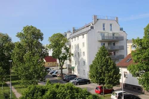 Korneuburg Zentrum: Neubaumiete mit Grünblick und West-Balkon