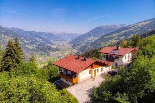 Zillertal: Haus mit 2 Wohneinheiten im Skigebiet zu vermieten!