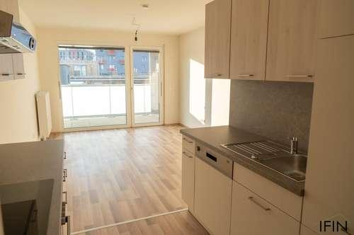Erstbezug! Helle Wohnung mit Balkon und neuer Küche - ideal für Singles oder Pärchen nähe Hauptbahnhof
