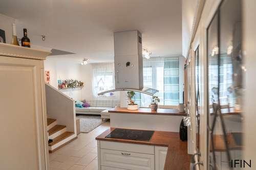 Ruhige 85m² Neubau-Maisonette mit 4 Zimmer, Balkon und Terrasse sucht Sonnenanbeter