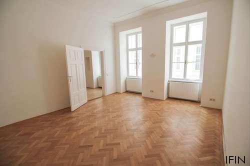 Helle 2 Zimmer Wohnung in wunderschönem Altbau im Zentrum von Wien