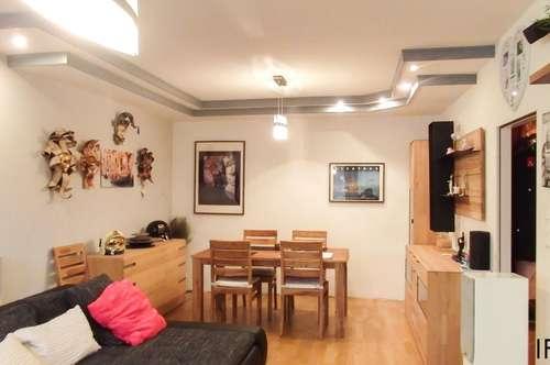 Lebensqualität am Land und doch in kurzer Zeit in der Stadt - ruhige 3 Zimmer Wohnung mit Loggia und Garage in Bad Vöslau