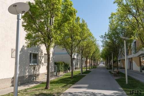 Helle, möblierte Wohnung - ideal für Singles oder Pärchen in begrünter Wohngegend