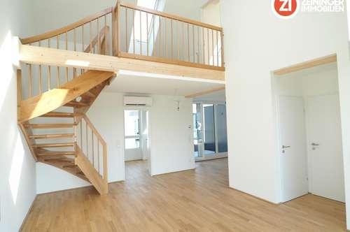 Noble Penthouse DG-Wohnung in Linz Urfahr - unbefristetes Mietverhältnis