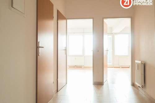 Schöne 3-Zimmer Wohnung inkl. Küche und Loggia - Linz Zentrum